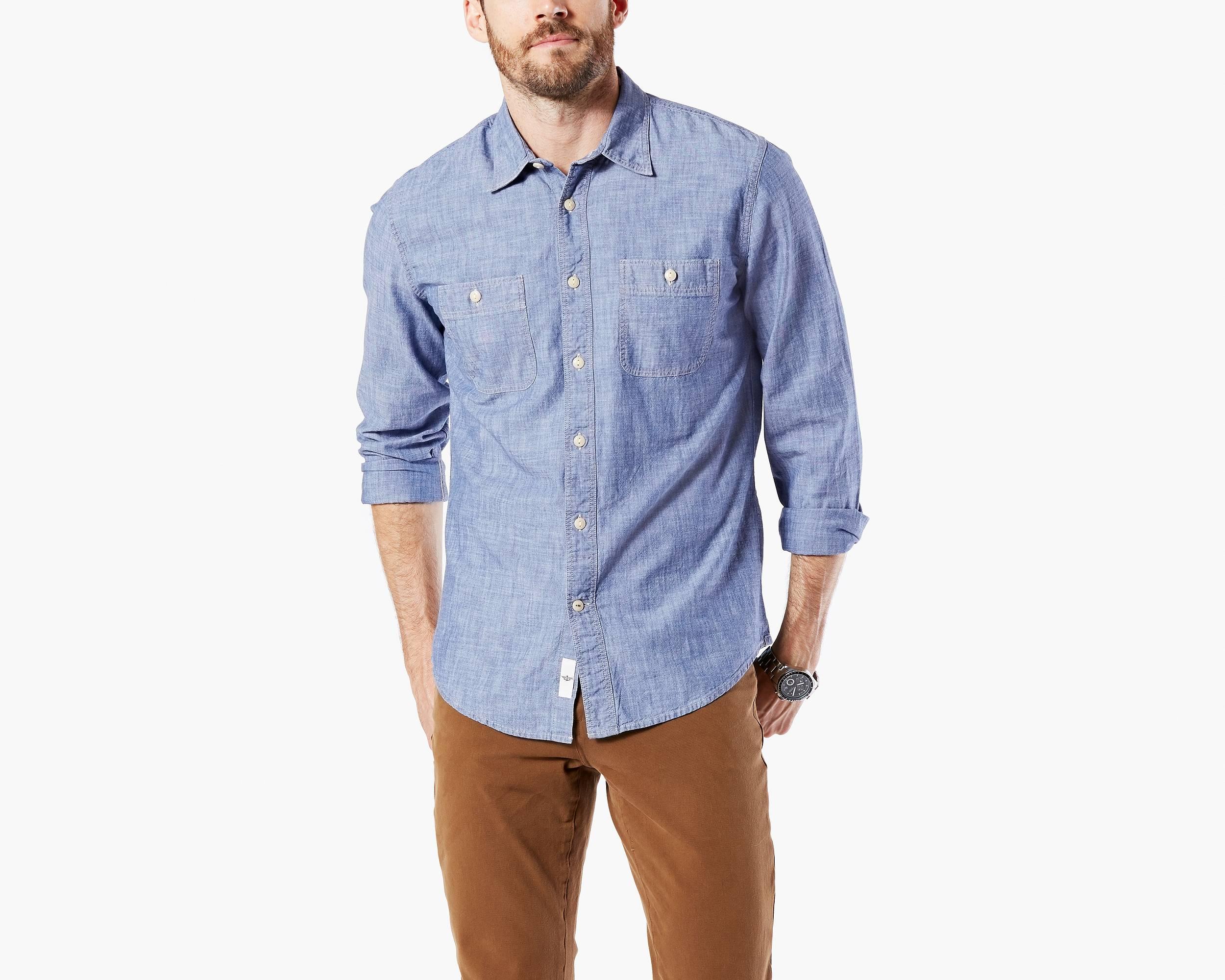 Mens Long Sleeve V Neck Tee Shirts