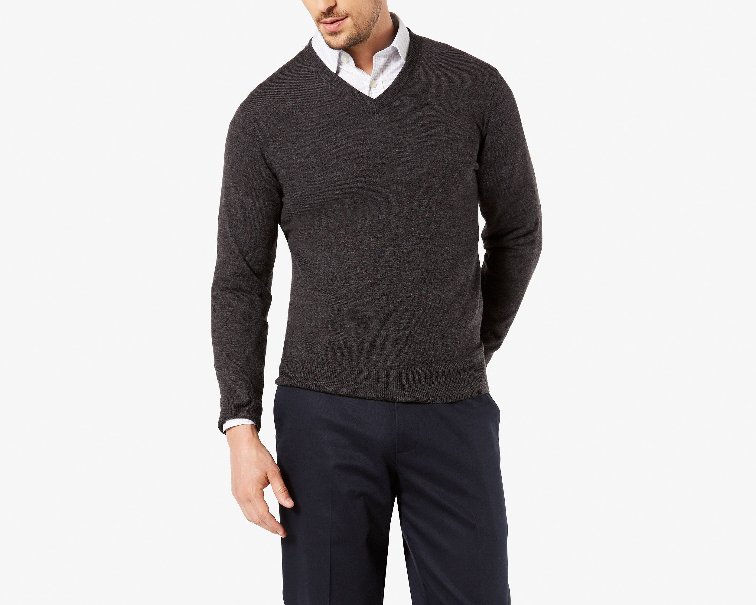 Sweaters & Sweatshirts for Men - Men's V-Neck Sweaters | Dockers®