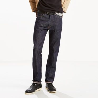 501®  Original Shrink-to-Fit™ Selvedge Jeans at Levi's in Daytona Beach, FL   Tuggl