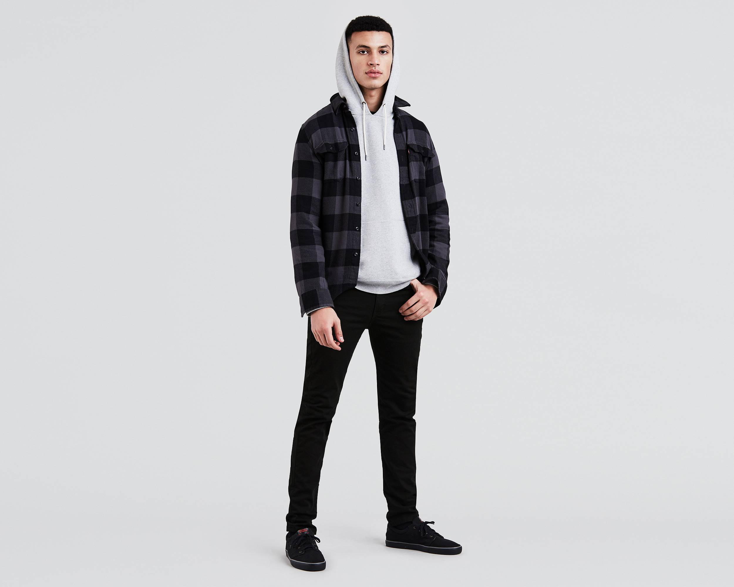 510™ Skinny Fit Stretch Jeans | Jet |Levi's® United States (US)