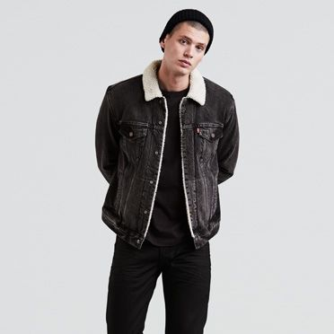The Sherpa Trucker Jacket | Lucky Town |Levi's® United States (US)