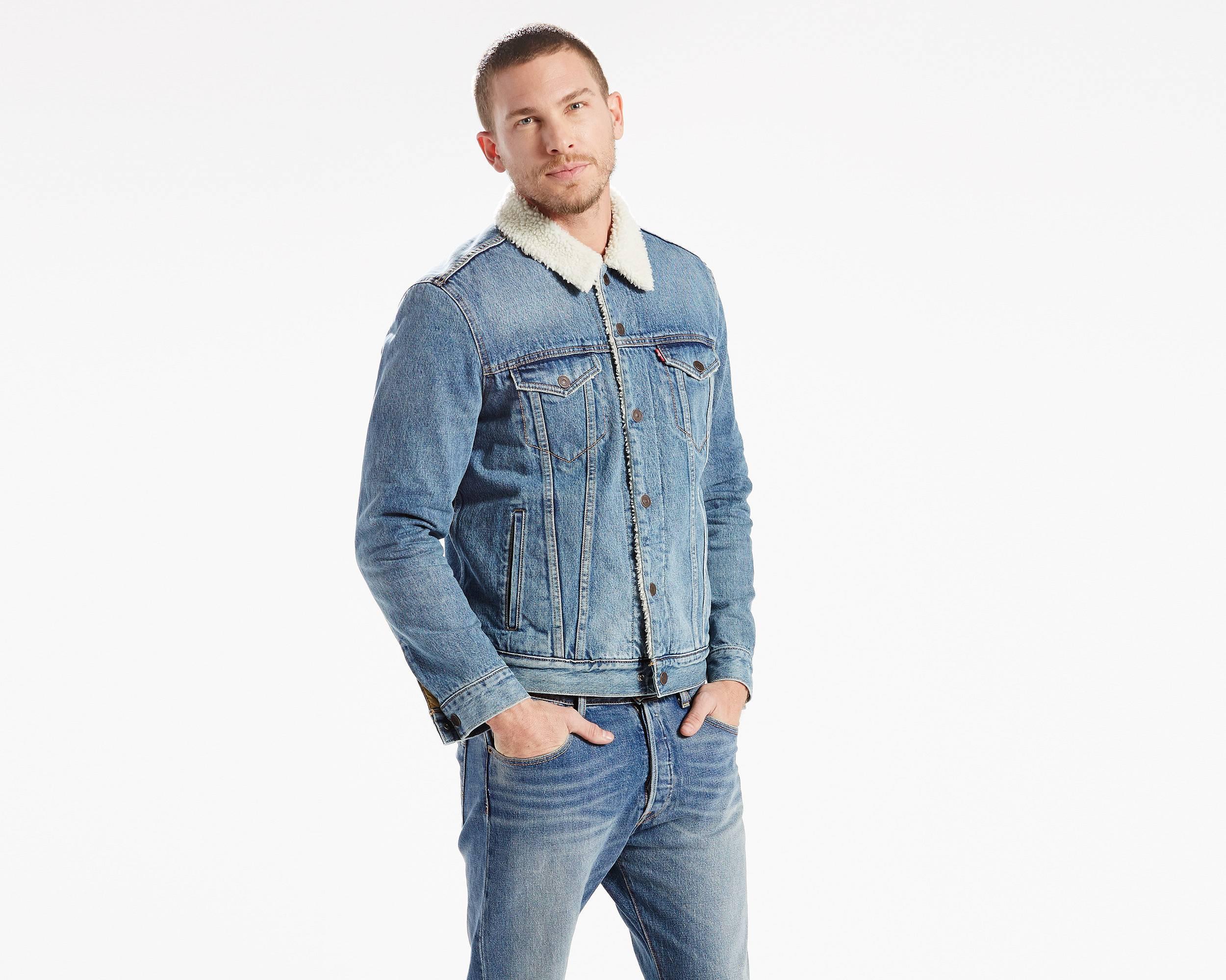 Men's Sherpa Jackets - Shop Sherpa Trucker Jackets   Levi's®
