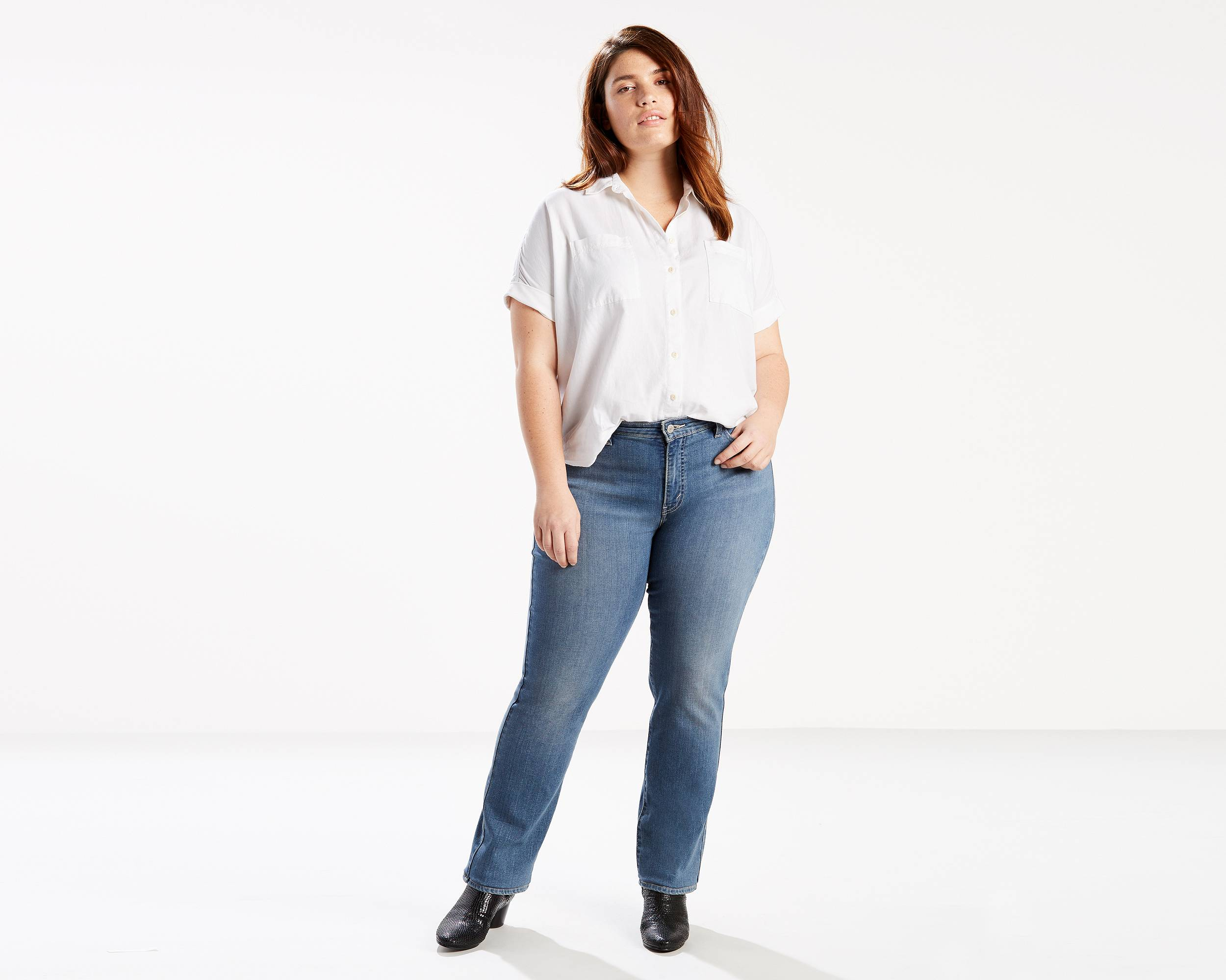 Flattering Jeans For Plus Size
