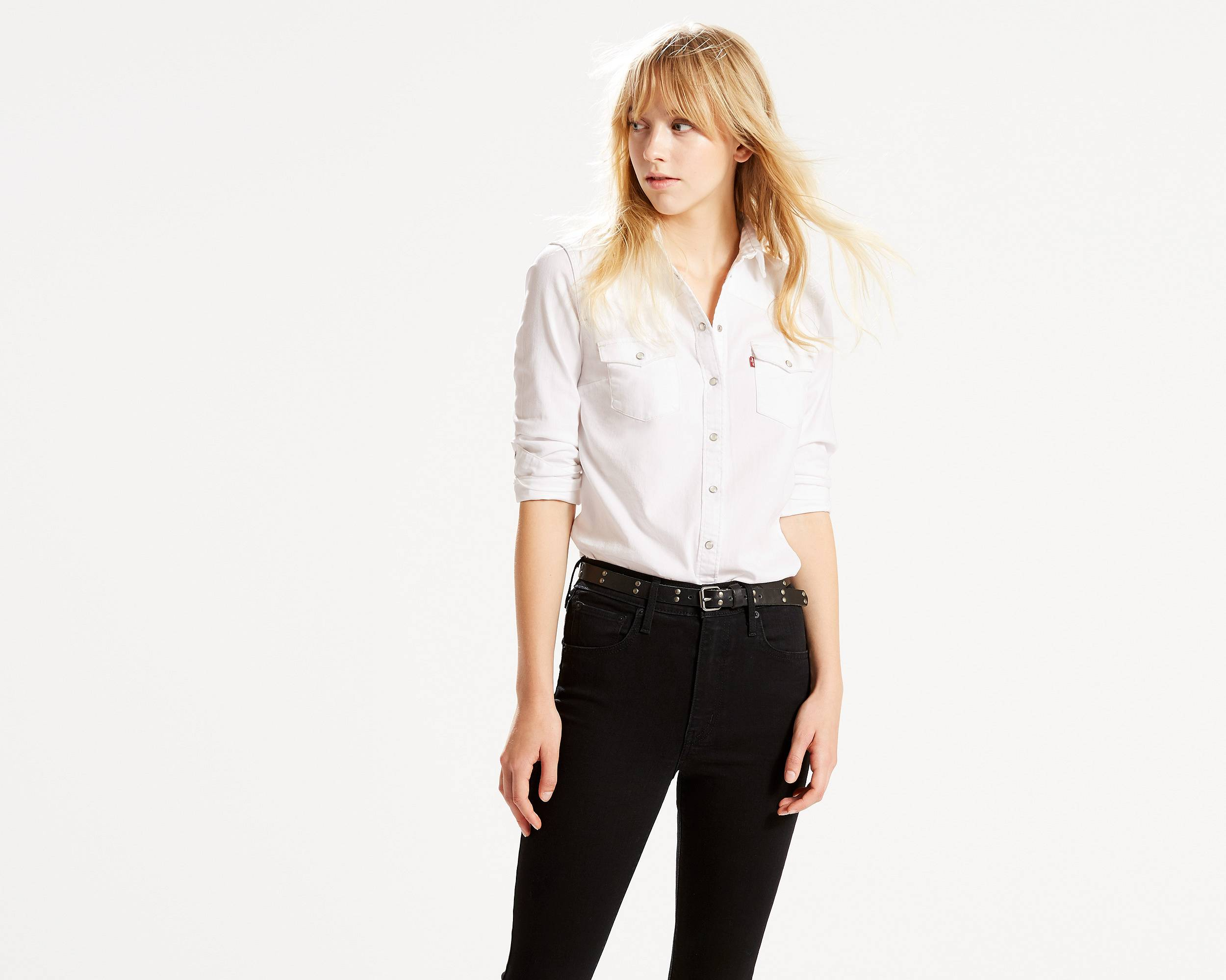 Classic Western Shirt | Beat Up White |Levi's® United States (US)