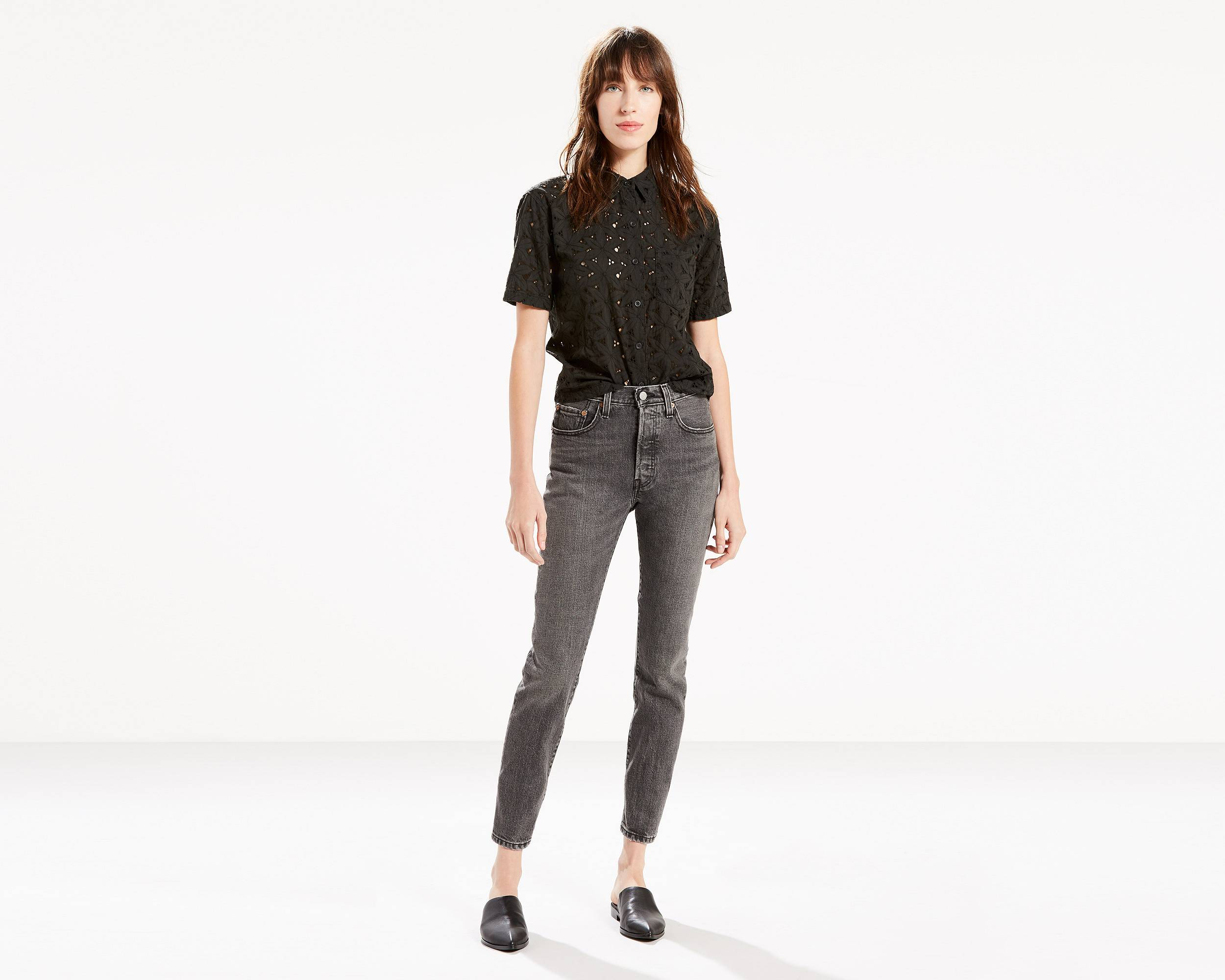 Black High Waisted Jeans | Skinny Jeans for Women | Levi's®