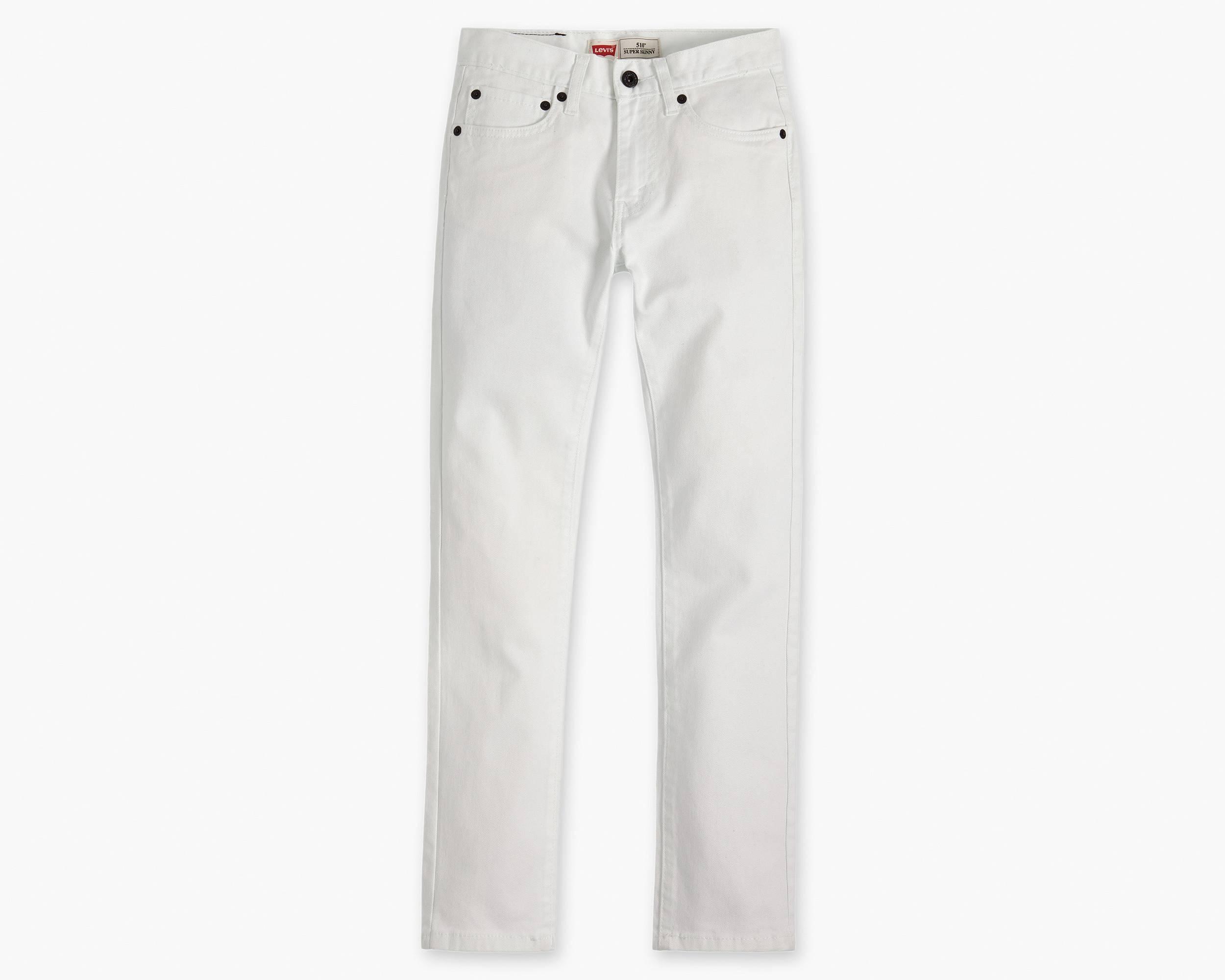 White Skinny Jeans Boys - Jon Jean