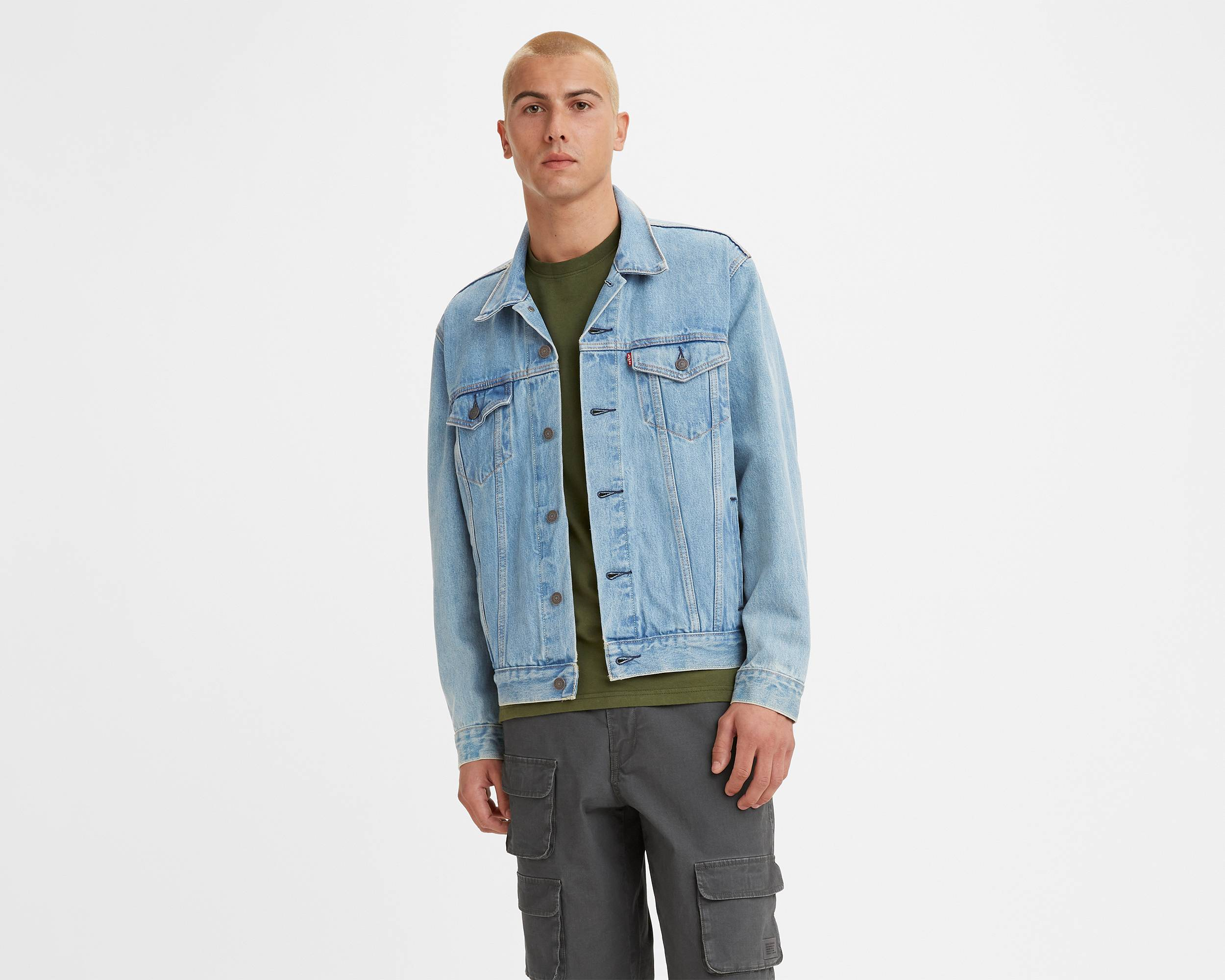 The Trucker Jacket | Light Stonewash |Levi's® United States (US)