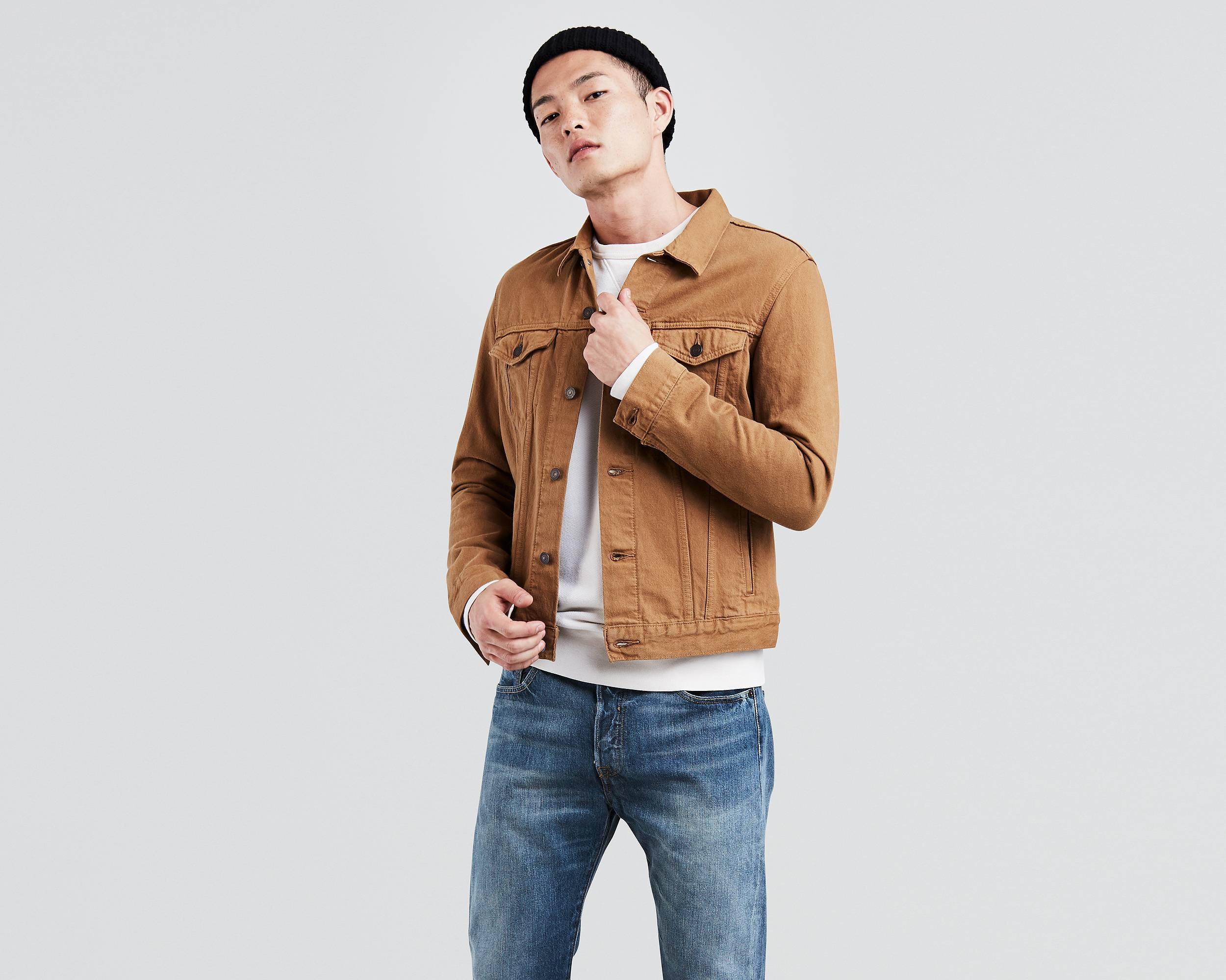The Trucker Jacket Caraway Levi S 174 United States Us