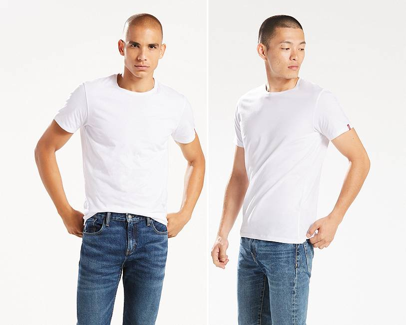 Levis Mens T-Shirt 2-Packs