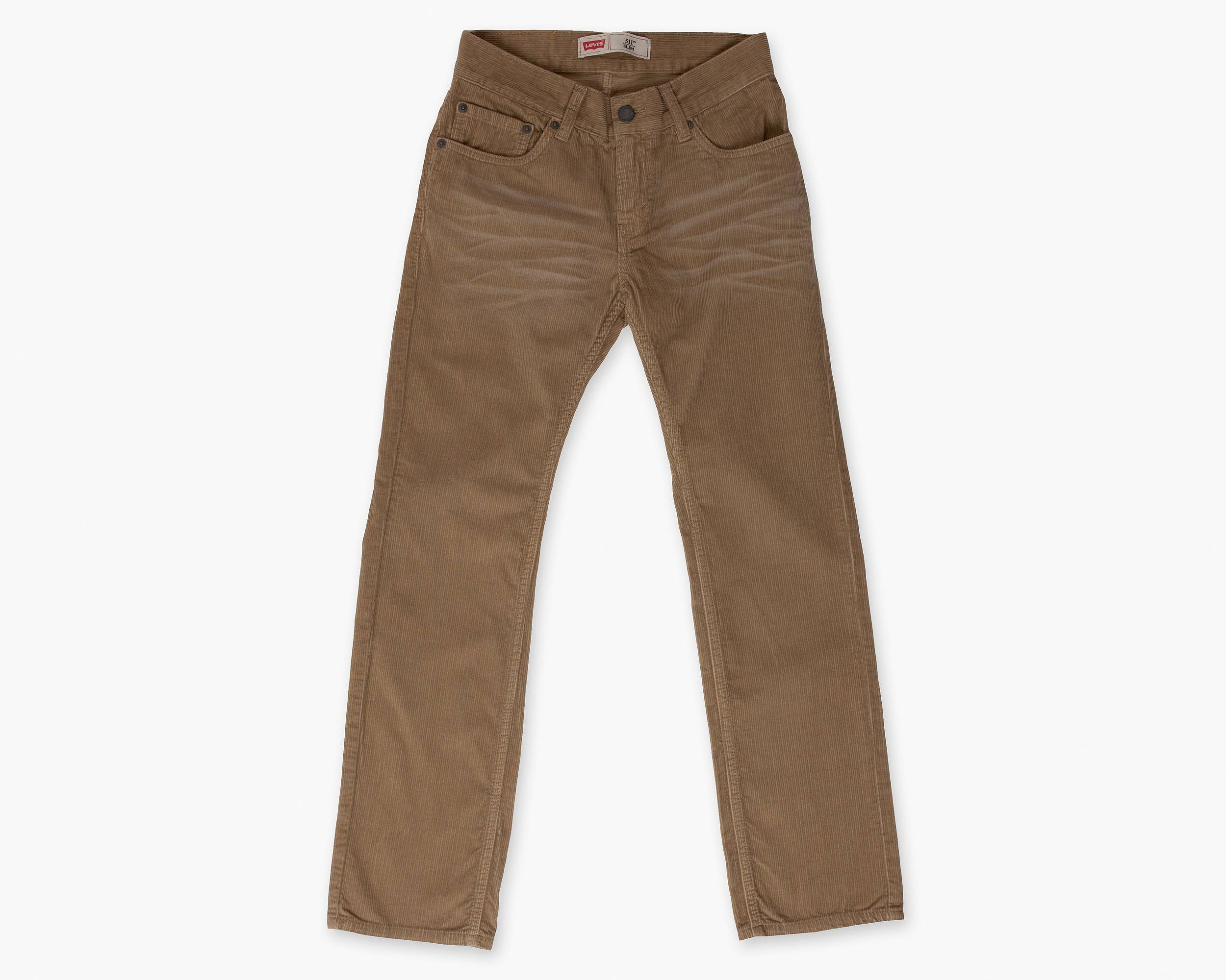 Boys (8-20) 511 Corduroy Pants | Surplus Khaki |Levi's® United ...