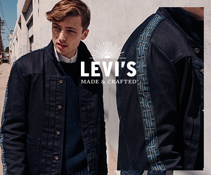 ARTFUL CONSTRUCTION. ELEVATED DETAILS. LEVI'S® BY DESIGN.