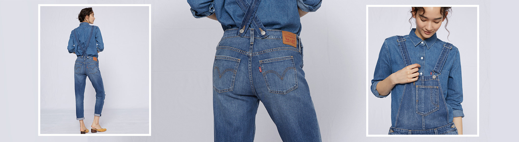 083a7e97372f Denim Overalls - Shop Jean Overalls for Women