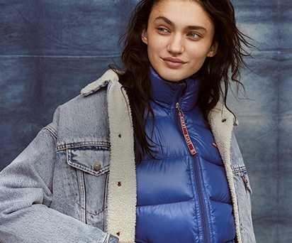 levi clothing women outerwear